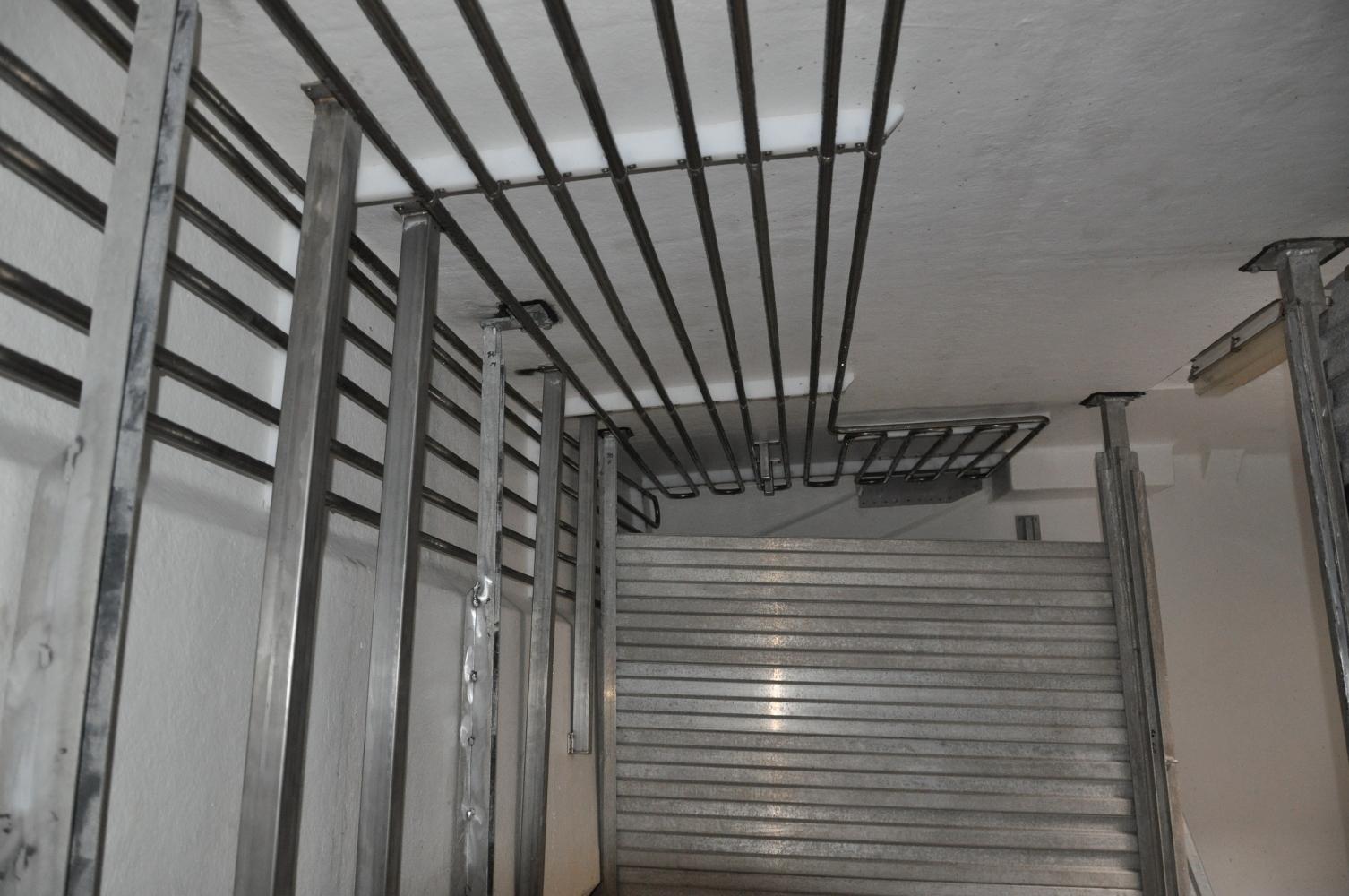 Kølerør i last udført i 316 rustfri rør.